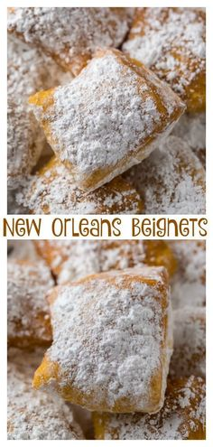 Now you can have New Orleans-Style Beignets without leaving home! ideas New Orleans-Style Beignets Recipe - The Best Beignet Recipe Just Desserts, Delicious Desserts, Yummy Food, French Desserts, Gourmet Desserts, Baking Desserts, Vegan Quesadilla, Beignet Recipe, Fast Recipes