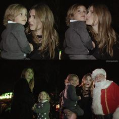 Stana & niece Sofia at LEGOLAND, CA Christmas Tree Lighting Ceremony 2016 - Nov 28, 2016
