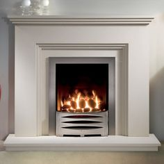 Fireplaces For Gas Fires Gas Fires For Victorian Fireplaces Arch Iron And Victorian, Victorian Fireplace Company London Uk Modern Contemporary, Gallery Cranbourne Fireplace Suite And Clevedon Gas Fire Gas, Electric Fire And Surround, Fire Surround, White Electric Fireplace, Electric Fireplaces, Fireplace Suites, Living Room Themes, Small Lounge, Simple Fireplace, Stone