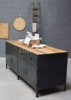 Dressoir Industrial | 1-1510-025 | Old BASICS