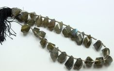 156 CTS LABRADORITE STRAND OF BEADS 27 PIECES NATURAL  LABRADORITE BEAD GEMSTONE HAND POLISHED GEMSTONE FROM  GEMROCKAUCTIONS