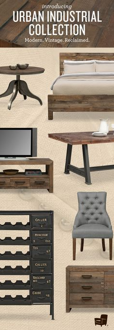 Entertain this holiday season Urban Industrial style. Check out our new styles and get inspired.
