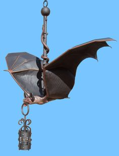 Bat Chandelier - Unique Lighting Made In USA Since 1913 - LCBT45