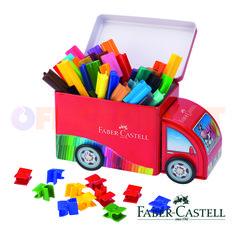 Joaca-te si coloreaza cu noul set de carioci cu camion connector!
