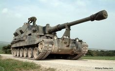 AS90 155mm self-propelled howitzer - British Army