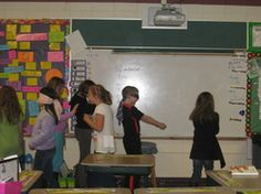 Team Building Activities - Ms. Serenson's 4th Grade Class I really like the idea that she does this every Friday, because it really continues to build community within the class.
