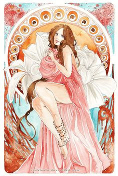 Art Nouveau: The Awakening by Rocktuete on DeviantArt