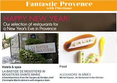 L'Occitane en Provence: Our selection of restaurants for a New Year's Eve in Provence