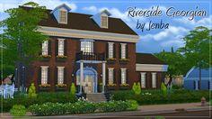 My Sims 4 Blog: Riverside Georgian by Jenba