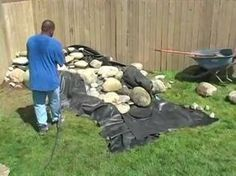 This video goes through, from beginning to end, the construction of a Pond Free disappearing waterfall or stream using Savio brand components. There are many...