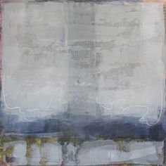karendarling: 'Chilled Out 2′- oil and cold wax on panel 36″x36″- Karen Darling