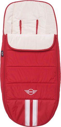 Easywalker MINI Fußsack Fireball Red aus der aktuellen Kollektion. Das ist mal ein Rot!