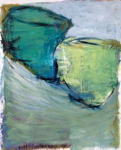 Marianne Hansen, olie på lærred, 130x105 cm.
