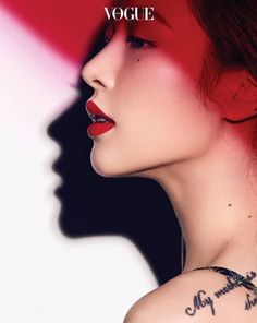 Hyuna Gets Lippy With 'Vogue Korea' ⋆ The latest kpop news and music Profile Photography, Beauty Photography, Creative Photography, Fashion Photography, Lifestyle Photography, Editorial Photography, Hyuna Photoshoot, Korean Photoshoot, Marie Claire