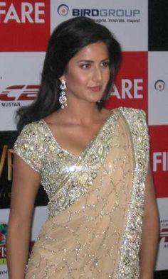 Katrina Kaif in Sup Gorgeous #Saree & Blouse