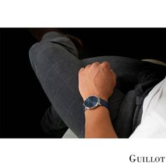 Find your lifestyle with Guillot Bracelets Bleus, Watches For Men, Have Fun, Steel, Lifestyle, Elegant, Luxury, Classic, Blue