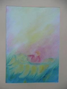Duimelijntje Rudolf Steiner, Wet On Wet Painting, 7 And 7, Chalkboard, Seasons, Drawings, Paper, Inspiration, Watercolors