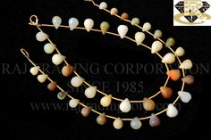 Ethiopian Opal Faceted Drops (Quality C) Shape: Drops Faceted Length: 18 cm Weight Approx: 3 to 5 Grms. Size Approx: 4.5 to 6 to 6x8 mm Price $26.00 Each Strand