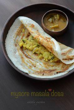 Mysore Masala Dosa Recipe, Mysore Masala Dosa Step by Step