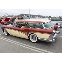 1957 Buick wagon @Lisa Phillips-Barton Suntrup BUICK GMC 4200 N SERVICE ROAD ST PETERS, MO 63376 (636)939-0800 WWW.SUNTRUPBUICKGMC.COM - RACHEL WILCOX