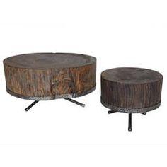 Pair of Tamarind Coffee Tables