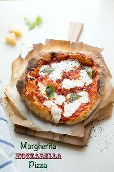 Classic Margherita Mozzarella Pizza Recipe - JoyOfKosher.com