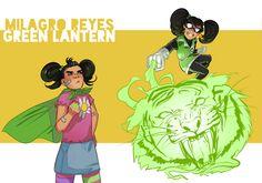 Green Lantern by Oskar Vega #Teentitans #fanart