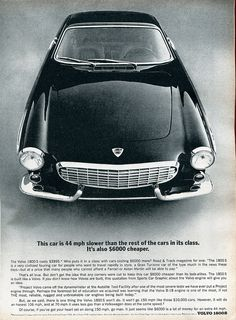1965 Volvo 1800 S Advertisement Road & Track February 1965 | Flickr - Photo Sharing!