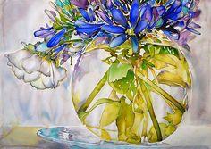 Italian Acrylic by Carol Carter
