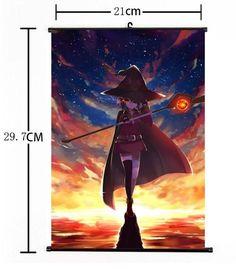Hot Japan Anime Kono Subarashii Sekai ni Shukufuku wo Home Decor Wall Scroll 05