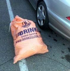 man for returned 75 lb. bag of cash that fell from armoured truck. Great example of integrity