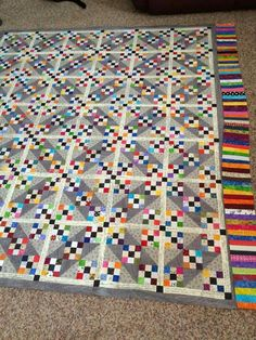 Tumalo Trail A Bonnie Hunter quilt
