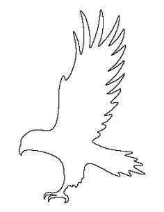 Free printable patterns to use for coloring, crafts, stencils, and more. Applique Patterns, Applique Quilts, Craft Patterns, Beading Patterns, Stencil Templates, Stencils, Animal Silhouette, Hawk Silhouette, Wood Badge