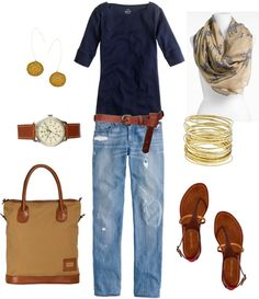 """Zebra Scarf"" by bluehydrangea ❤ liked on Polyvore"