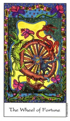 Tarot of the Trance - Wheel of Fortune