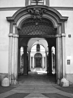Milano - Palazzo Clerici, Via Clerici, 5