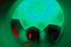 #Pentalum is our latest luminarium...we've been hand building luminaria for 21 years.  To find out more about our design & inspiration take a look at our #aoabook http://www.architects-of-air.com/the-aoa-book.html