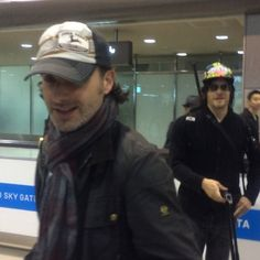 Andrew Lincoln & Norman Reedus