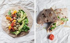 Picnic breakfastburritos  from Sprouted Kitchen