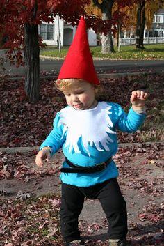 her hobby: little gnome