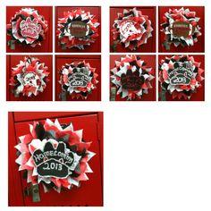 High School Locker Decorations: Our Homecoming locker decorations