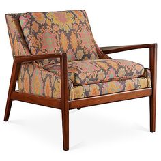 Ebonwood Accent Chair Now: $1,679.00 Was: $2,095.00
