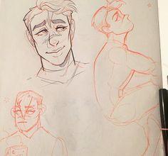 Little Voltron doodles!