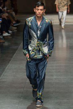 Dolce & Gabbana Spring 2016 Menswear Fashion Show - Wenhui