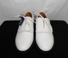 Callaway Broadmoor White Golf Shoes by Nordstrom Leather sz NEW NWT White Golf Shoes, 5 News, Golf Outfit, Shoe Boots, Nordstrom, Sandals, Sneakers, Leather, Fashion