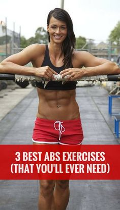 3 abs exercises - I want those abs!