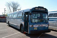 TNJ SUBURBAN GMC FISHBOWL Service Bus, Public Service, Bus City, Retro Bus, West Milford, Greenwood Lake, New Bus, Buses And Trains, Bus Terminal