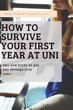 University can be daunting but here are 6 ways to help ease you into your first year! First Year, Student Life, You Got This, Survival, University, Advice, How To Get, Tips, Student Living