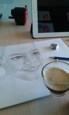 Coffee time and draw