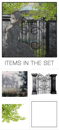 """""""A Moment Alone"""" by ritadolce ❤ liked on Polyvore featuring art"""